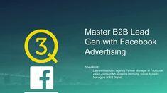 Master B2B Lead Gen with Facebook Advertising Competitor Analysis, Facebook Marketing, Budgeting, Advertising, Management, Digital, Amazing, Inspiration, Biblical Inspiration