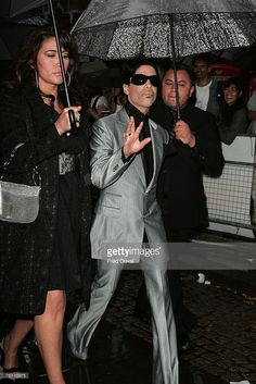 Prince attends the UK premier of the Bourne Ultimatum at the Odeon Leicester…