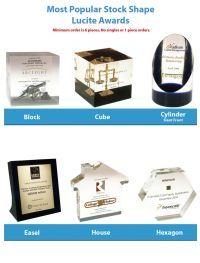 Lucite Tombstones and Deal Toys. Lucite and Acrylic Awards & Logo Gifts  www.lucitetombstones.com