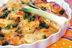Cartofi cu brânză la cuptor - Retete culinare - Romanesti si din Bucataria internationala