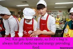 EXO Facts #542 ♥ All the Kaisoo shippers just screamed.