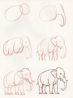 How to draw an elephant by Divonsir Borges