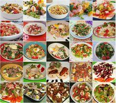 Cinco sentidos na cozinha: 25 Saladas para o Verão