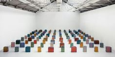 "Rachel Whiteread. ""100 Spaces"""
