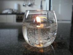 DIY Gel Candles