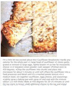 Low Calorie Cauliflower Pizza
