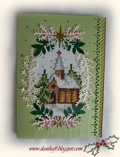 Haftem malowane: Kartki na Boże Narodzenie Cross Stitch Cards, Beaded Cross Stitch, Cross Stitching, Cross Stitch Embroidery, Cross Stitch Patterns, Cross Stitch Christmas Ornaments, Christmas Cross, Cross Stitch Gallery, Vive Le Vent