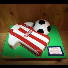 Chivas soccer cake
