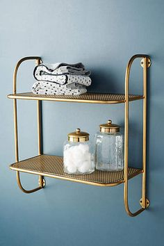 home decor shelves Erin Wall Mounted Storage Rack Erin Wall Mounted Storage Rack White Bathroom, Modern Bathroom, Small Bathroom, Master Bathroom, Bathroom Ideas, Brass Bathroom, Parisian Bathroom, Bathroom Mirrors, Bathroom Towels