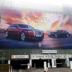 Rolls Royce Ghost Series II - Retouching & Animation on Behance