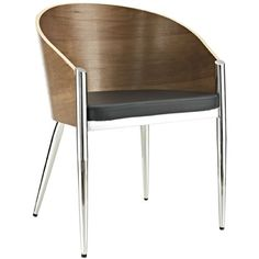 LexMod Philippe Starck Style Pratfall Chair with Chrome Legs LexMod http://www.amazon.com/dp/B007QUKYBC/ref=cm_sw_r_pi_dp_-cH3vb1RAC5H1