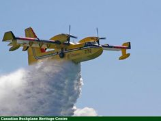 Bombardier water bomber