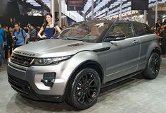 The 2012 Range Rover Evoque Special Edition at the Beijing Motor Show.