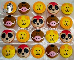 Lion King Cupcakes on Cake Central Lion King Theme, Lion King Jr, Lion King Party, Lion King Birthday, First Birthday Cakes, 4th Birthday Parties, Baby Birthday, Birthday Ideas, Disney Themed Cakes