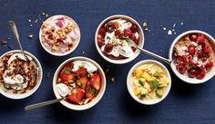 6 Healthy Yogurt Indulgences www. Barley Nutrition, Yogurt Nutrition, Fig Nutrition, Healthy Yogurt, Healthy Treats, Healthy Recipes, Healthy Food, Crockpot, Protein