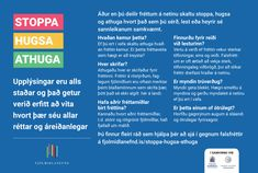 Stoppa Hugsa Athuga - Fjölmiðlanefnd Elementary Counseling, Career Counseling, Elementary Schools, Guidance Lessons, Physical Education Games, Digital Citizenship, Conflict Resolution, Physics, Bulletin Boards