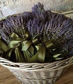 Dried French Lavender Bundles - From the Potting Shed