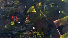 """The Vertigo of Eros by Roberto Matta, Oil on canvas, x The Museum of Modern Art. from MOMA: """" In the late and early Matta had produced works he called """"inscapes,"""". Ap Art, Sculpture, Museum Of Modern Art, Surreal Art, Les Oeuvres, Art History, Oil On Canvas, Art Gallery, Poster Prints"""