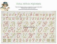 cross stitch free baby patterns alphabets