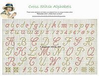 Free Cross Stitch Alphabet Patterns