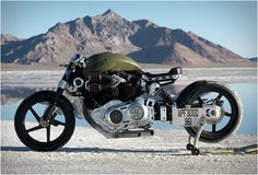 X132 Hellcat Combat, by Confederate Motorcycles
