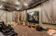 Call Of Duty, Bedroom Decor, Bedroom Ideas, Wall Decor, Army Bedroom,