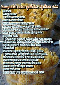 Biscuit Cookies, Biscuit Recipe, No Bake Cookies, No Bake Cake, Cake Cookies, Diy Food, Food Crafts, Resepi Cookies, Baking Recipes
