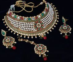 Looking to buy Indian Inspired designs of Jewelries ranging necklace earring and bangles from India, We are the perfect online destination. Gold Jewelry For Sale, Wholesale Gold Jewelry, Jewelry Sets, Silver Jewellery Indian, Silver Jewelry, Gold Jewellery, Silver Ring, Silver Earrings, Marriage Jewellery Set
