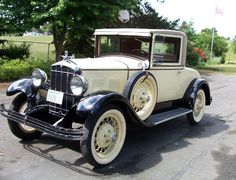 Durant car - 1929 Sports Coupe