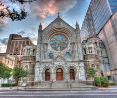 Sacred Heart Catholic Church downtown Tampa...so many wedding of friends and family took place here.