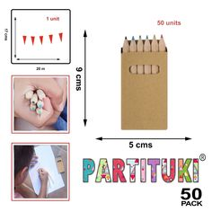 Partituki Sets of Colored Pencils for Kids. Ideal Gift for Children's Party Guests 7th Birthday Party Ideas, Kids Birthday Gifts, 5th Birthday, Pinata Fillers, Party Bag Fillers, Kid Party Favors, Party Favor Bags, Kids Party Entertainers, Pack Of Crayons