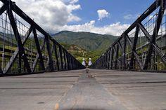 Bridge, Santa Fé de Antoquia. Colombia.