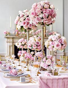 1000本のバラが彩るロマンティックな時間。【Rose編】幸せあふれる、世界一のウエディングテーブル.......