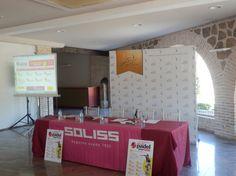 Todo listo para la presentación del Soliss Pádel Tour