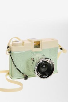 A cute camera so she can take pictures of her favorite outfits. Lomography Diana + Dreamer Camera.