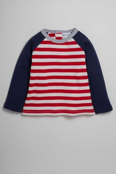 Pumpkin Patch Stripe Long Sleeve Raglan Tee at EziBuy New Zealand. Buy women's, men's and kids fashion online. Kids Fashion, Womens Fashion, Raglan Tee, Online Clothing Stores, Red Stripes, Tees, Long Sleeve, Sleeves, Cotton