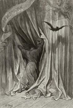 Raven | ... Doré (Illustrations of The Raven – Ilustraciones para El Cuervo