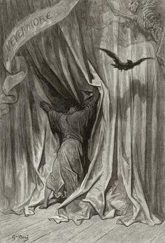 Raven   ... Doré (Illustrations of The Raven – Ilustraciones para El Cuervo