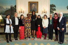 """Women make immeasurable contributions to our world."" —President Obama #HappyInternationalWomensDay"