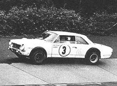 IKA TORINO 380. 1966-1970: El Torino y las 84hs de Nürburgring.