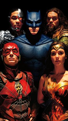 Justice League Poster ( Without Superman Or Text ) My Personel Favorite Watch Justice League, Justice League 2017, Aquaman, Dc Movies, Comic Movies, Comic Book, Comic Art, Joss Whedon, Gal Gadot