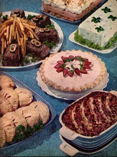 buffet dinner - Buffet Retro Cuisine