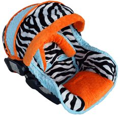 Car Seat Covers - Trendy and Stylish Baby Car Seat Covers - Baby COOL Zebra Baby Car Seat Cover|LollipopMoon.com only $198.00 - Baby Car Seat Cover