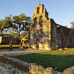 Check out Southern Living's fabulous list of 101 Free Things to Do in the South! Pictured: Get a closer look at the four beautiful 18th-century Spanish churches that grace San Antonio's Mission Trail in Texas