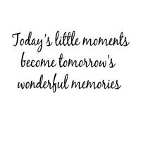 Woodware Stamp Today's Little Moments, Become Tomorrows… - Google Search