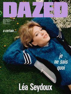Léa Seydoux for Dazed's Autumn 2016 Issue.  Photography Mark Peckmezian,  Fashion Katie Shillingford.  All clothes Louis Vuitton.