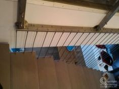 scara interioara cu cabluri inox