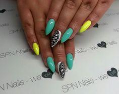 SPN UV LaQ 624 & 529.  Nails by Karolina, SPN Team Austria
