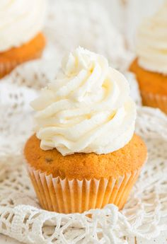 best buttercream frosting on a cupcake