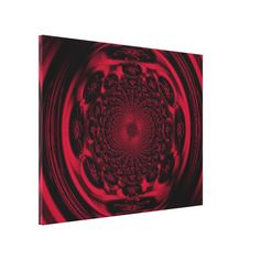 Mandala wall art is trendy, hip and relaxing to look at.  In fact mandala home decor is becoming increasingly popular.  Great for bedrooms, living rooms and offices as it promotes relaxation while sparking creativity.  Great for inspiration mandala wall art is truly the epitome of hypnotic.  Especially great for a meditation room or bathroom.  Mandala of the Sun in Scarlet C1 SDL Canvas Print